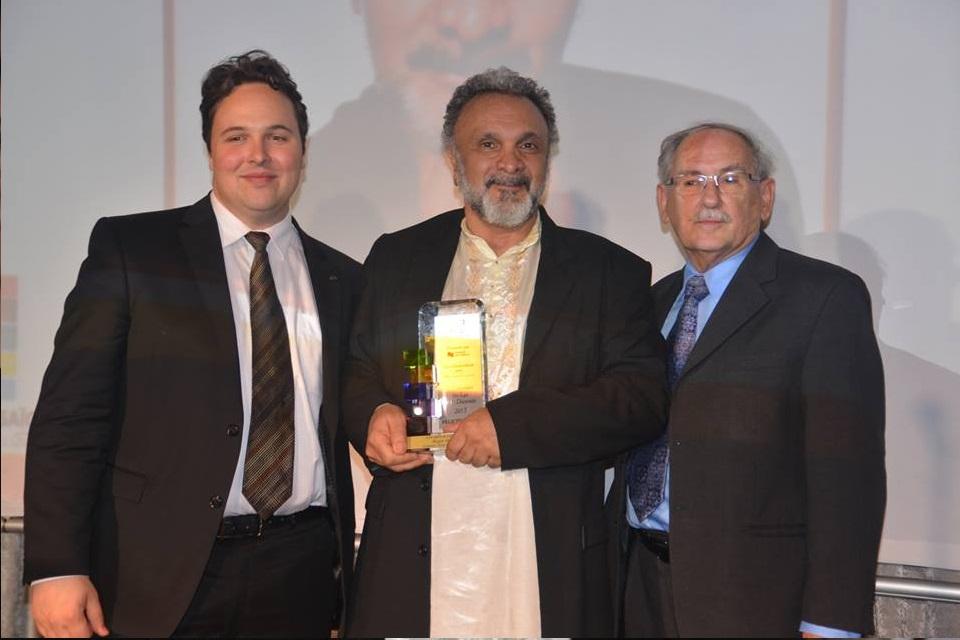 Roger Sinha remporte le Lys arts & culture 2017
