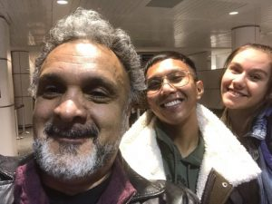 Roger Sinha, Mark De la Cruz, Emma dal Monte, 2018